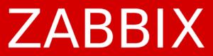 The Zabbix logo, published to Zabbix, The Ultimate Open Source Monitoring Solution