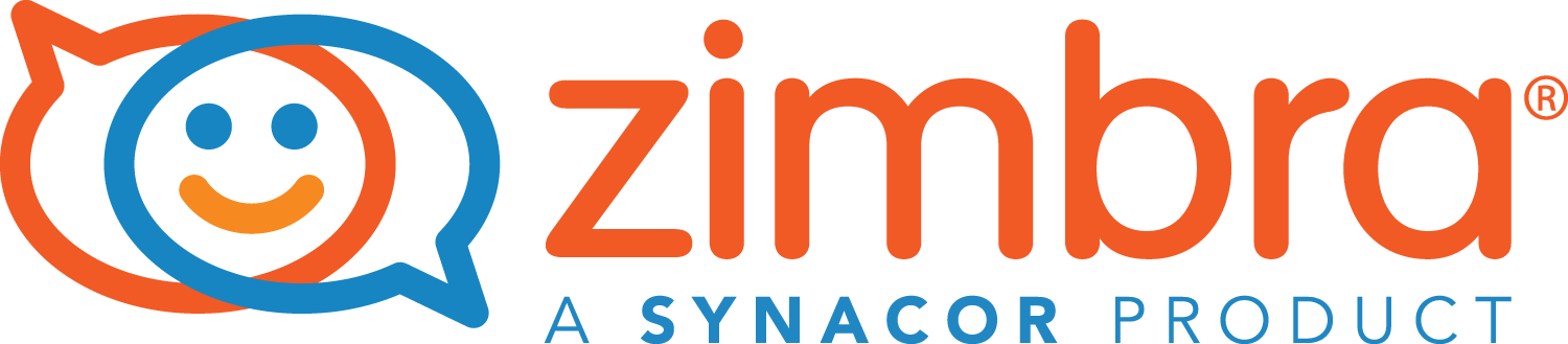 The Zimbra logo, published to Zimbra, Your Open Source Email and Collaboration Management System